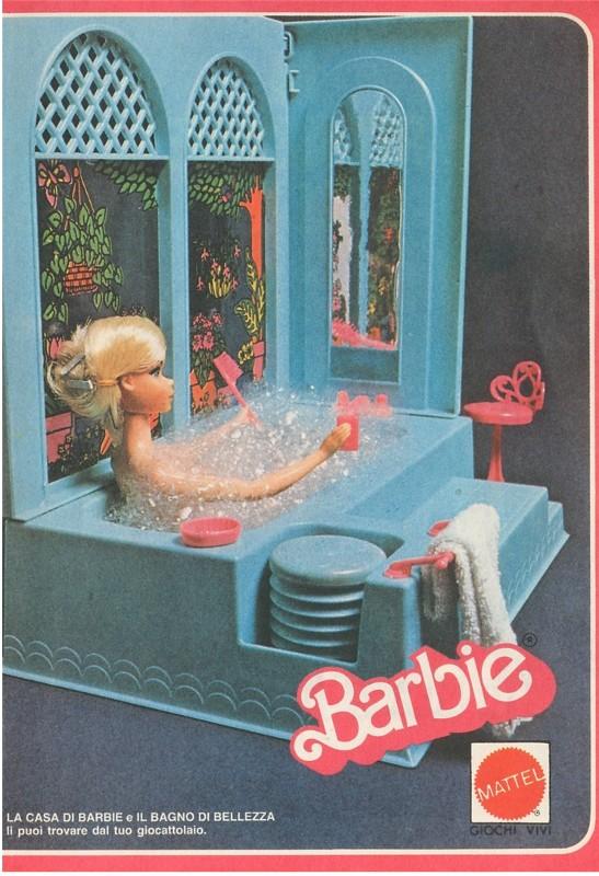 Accessori Bagno Anni 80 : La casa di barbie anni su un tuffo nel passato